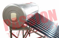 Mirror Stainless Steel Open Loop Solar Water Heater 150 Liter For Residential