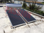 Hybrid Flat Plate Solar Water Heater , Solar Thermal Heating System Aluminum Frame