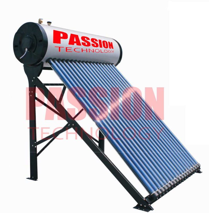 250L Compact Pressurized Evacuated Tube Integrated Solar Water Heater for Home