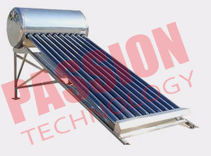 120L Integrated Solar Water Heater Tubes , Solar Hot Water Heater System For Family