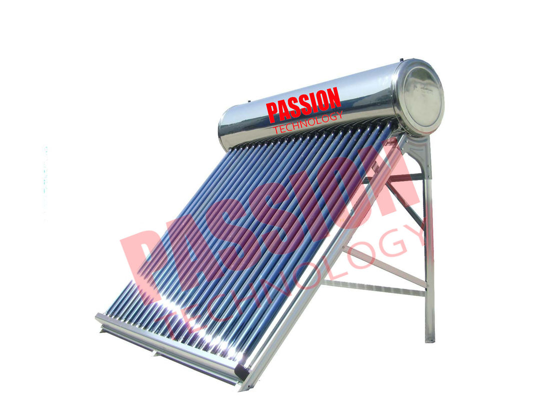250L Stainless Steel Thermal Solar Water Heater For Home Attractive Design