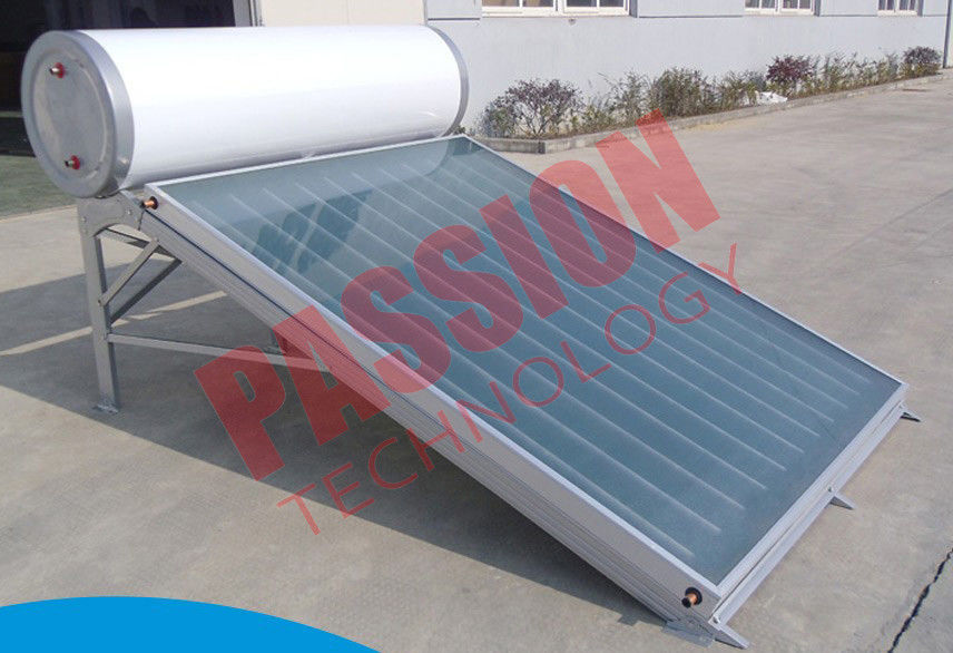 Compact Pressure Solar Water Heater 150 Liter Anode Oxidation Coating