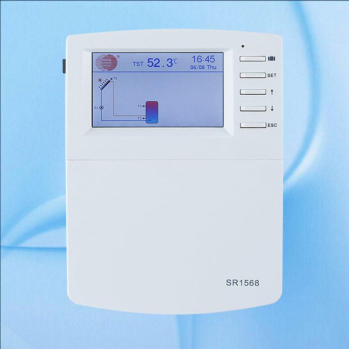 Porcellana Regolatore Solare Dello Scaldabagno Approvato CE Con  Lu0027esposizione SR1568 Di Temperatura Fornitore