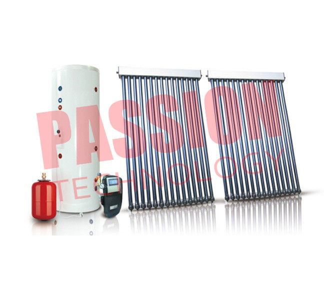 Anti Freezing Direct Split Solar Water Heater Commercial Aluminium Alloy Frame