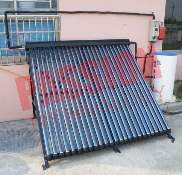 Module Design Split Solar Water Heater Heat Pipe Stainless Steel Coil
