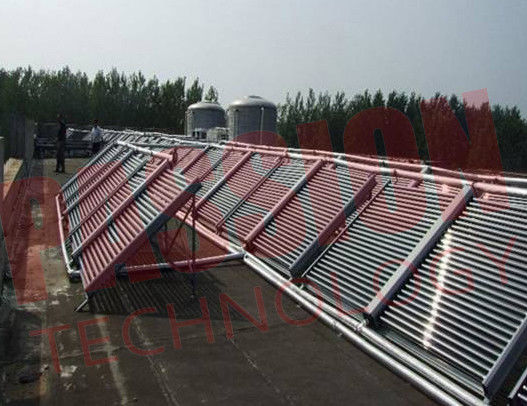 Evacuated Tube Solar Collectors Non Pressure Heat Pipe Double Side For Swimming Pool Heating