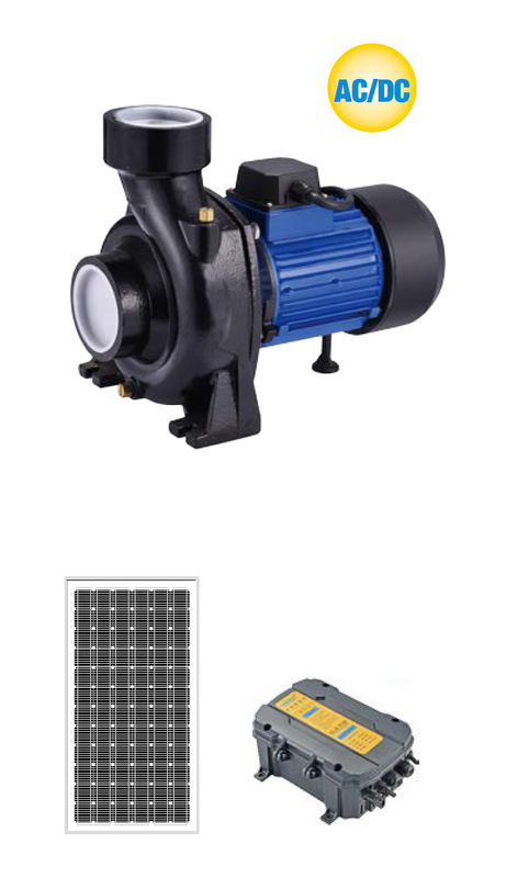 LHF - H Series Solar Water Pumping System AC / DC HYBIRD Brushless Surface