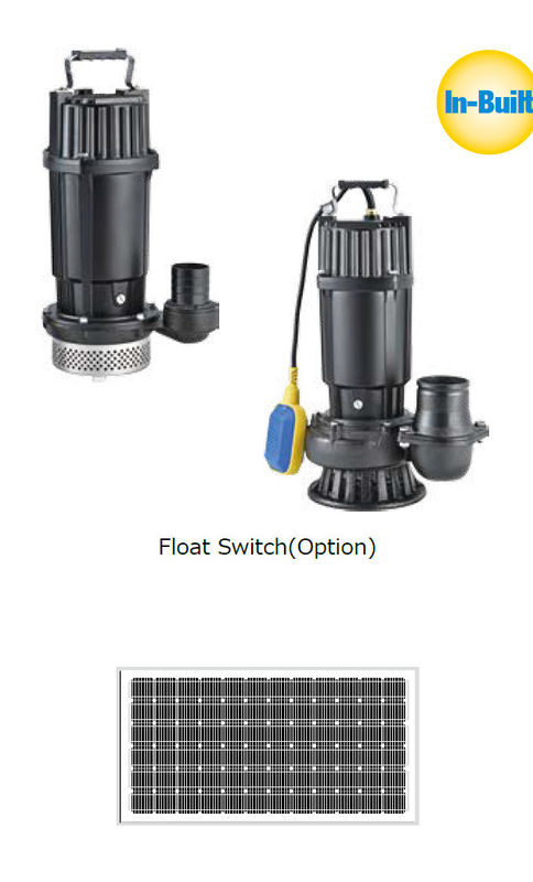 DC Brushless Submersible Solar Water Pumping System For Home Use / Farm / Domestic Use