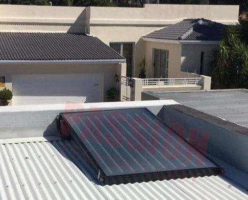 Home Use Flat Plate Solar Collector , Flat Panel Solar Water Heater CE / ISO