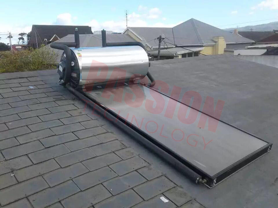 Integrated Pressurized Flat Plate Solar Water Heater Rooftop Collector