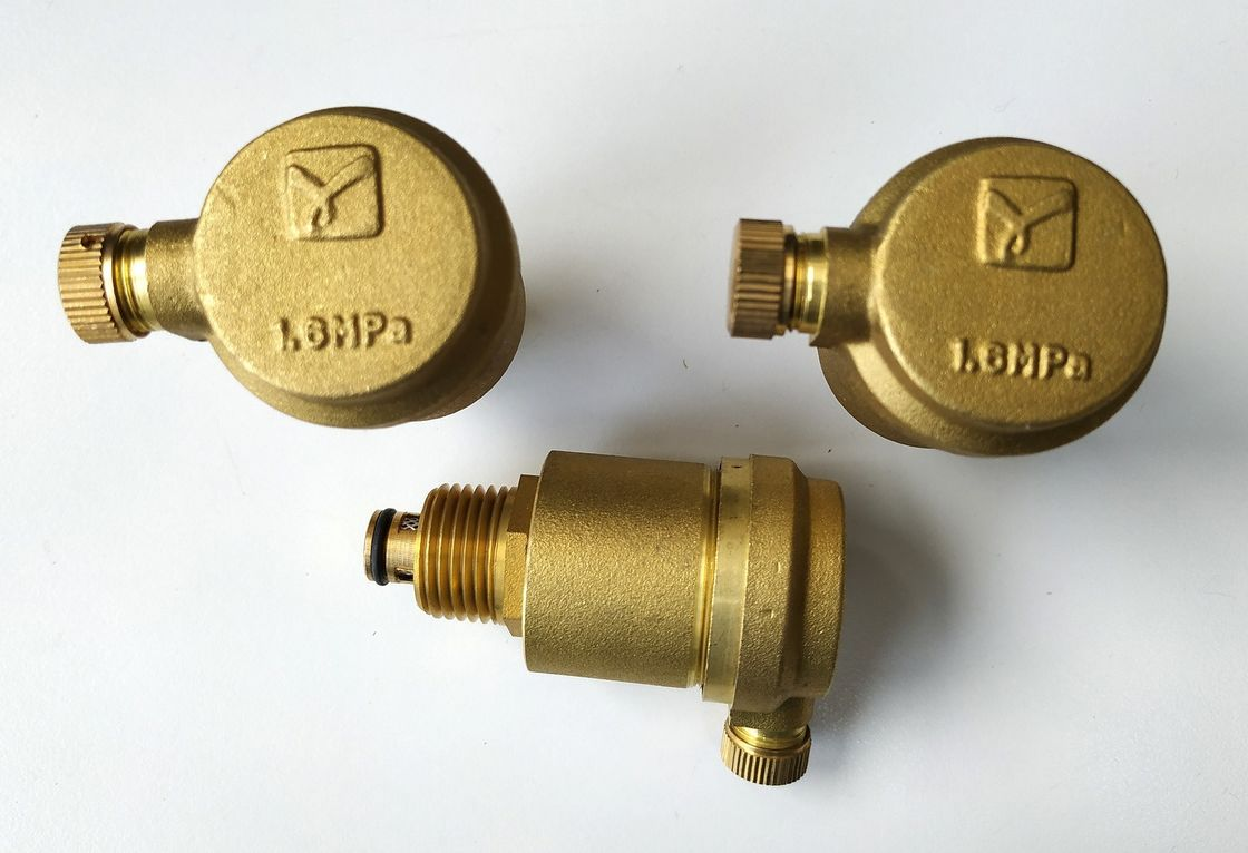 Brass Air Vent Valve For Solar Collector Automatic Air Pressure Relief Valve Air Release Valve