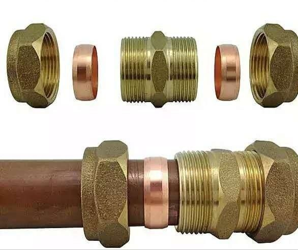 Brass Connector for Solar Water Heater Copper Fittings For Solar Collector